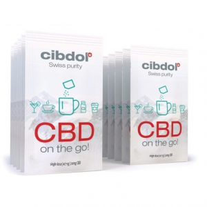 CBD on the go : Watersoluble
