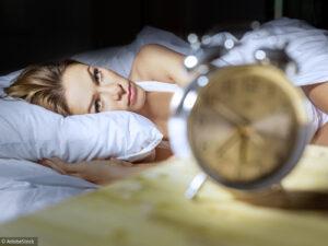 Insomnie et déséquilibre de l'organisme